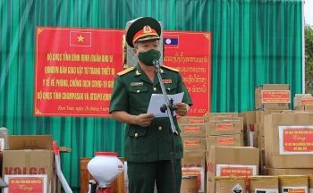 Bình Định hỗ trợ 800 triệu cho 4 tỉnh Nam Lào để phòng, chống dịch Covid-19