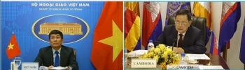 Việt Nam và Campuchia trao đổi về công tác biên giới trên đất liền