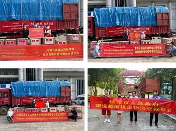 Vân Nam (Trung Quốc) hỗ trợ vật tư y tế cho 5 tỉnh Việt Nam phòng, chống dịch Covid-19