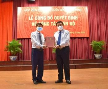 PGS. TS. Phạm Minh Sơn được bổ nhiệm làm Giám đốc Học viện Báo chí và Tuyên truyền