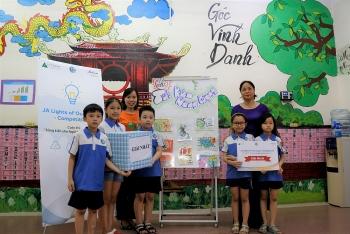 JA Việt Nam cùng 500 học sinh chung tay bảo vệ môi trường sống
