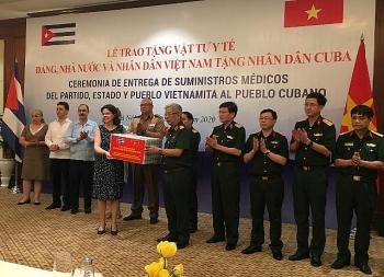 Cuba tặng thuốc, cử chuyên gia vào Quảng Nam, Đà Nẵng hỗ trợ chống COVID-19