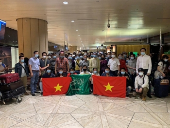 Đưa hơn 270 công dân Việt Nam từ Cộng hòa Síp và Saudi Arabia về nước