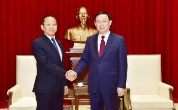 Hà Nội thúc đẩy quan hệ hợp tác với các địa phương Campuchia