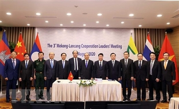Lãnh đạo Lào, Campuchia đánh giá cao thành tựu hợp tác Mekong-Lan Thương