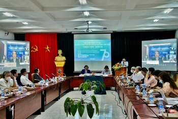 Hội thảo trực tuyến 70 năm thiết lập quan hệ ngoại giao Việt Nam – Trung Quốc