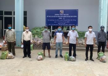 VNHelp trao quà, tiền cho hộ gia đình khó khăn trong dịch Covid-19 tại Đà Nẵng, TP.HCM