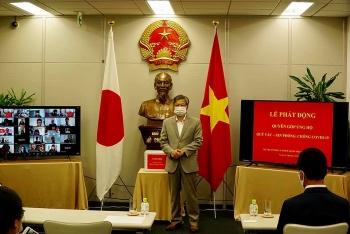 Cộng đồng người Việt tại 8 tỉnh Tây Nam Nhật Bản quyên góp ủng hộ Quỹ vaccine phòng chống Covid-19
