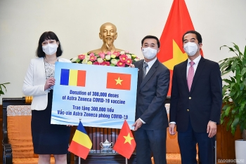 Romania tặng 300.000 liều vaccine AstraZeneca cho Việt Nam