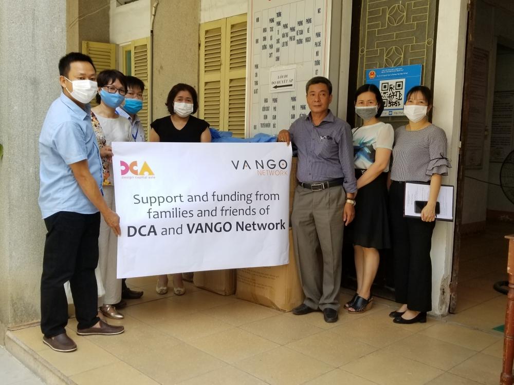Design Capital Asia, Hiệp hội Tuổi thơ Hy vọng, Tổ chức AVI hỗ trợ người dân Huế có hoàn cảnh khó khăn