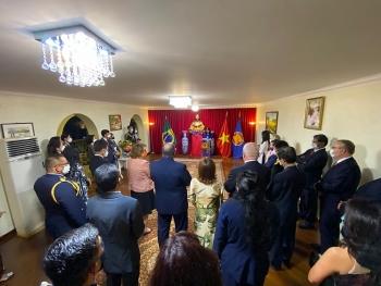 Đại sứ quán Việt Nam tại Brazil long trọng tổ chức kỷ niệm 76 năm Quốc khánh