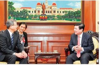 Muốn thêm nhiều địa phương của Nhật Bản xây dựng được mối quan hệ hữu nghị, hợp tác với TP.HCM