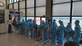 Thêm chuyến bay đưa 570 công dân từ Nga, Đài Loan về nước