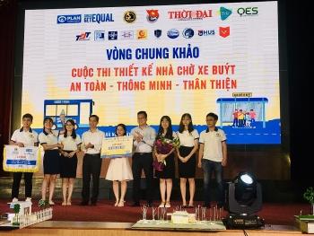 Đội 20 Plus UTC (Đại học GTVT) giành giải nhất Cuộc thi