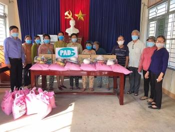 Tổ chức thiện nguyện Paint A Dream quyên góp ủng hộ người nghèo tại Quảng Ngãi, Quảng Nam