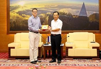 Lào Cai mong muốn Tổ chức SNV tại Việt Nam tiếp tục tài trợ các dự án mới cho tỉnh