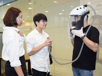 Mũ ngăn COVID-19 của học sinh Việt vào top 10 Giải thưởng Đổi mới sáng tạo quốc tế iCAN