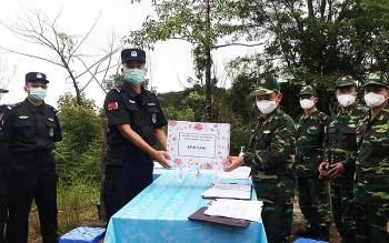 Biên phòng Điện Biên đẩy mạnh hợp tác với biên phòng Giang Thành, Trung Quốc