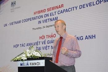 Tăng cường hợp tác Anh-Việt về giảng dạy tiếng Anh tại Việt Nam