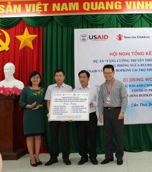 Liên hiệp các Tổ chức hữu nghị thành phố Cần Thơ tổng kết hoạt động phi dự án về COVID-19