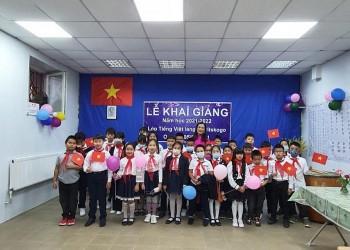 Khai giảng lớp học tiếng Việt tại làng Staritskogo (Ukraine)