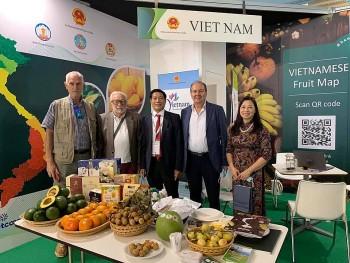 Lần đầu tiên Việt Nam tham dự Hội chợ quốc tế trong lĩnh vực rau quả tại Italia