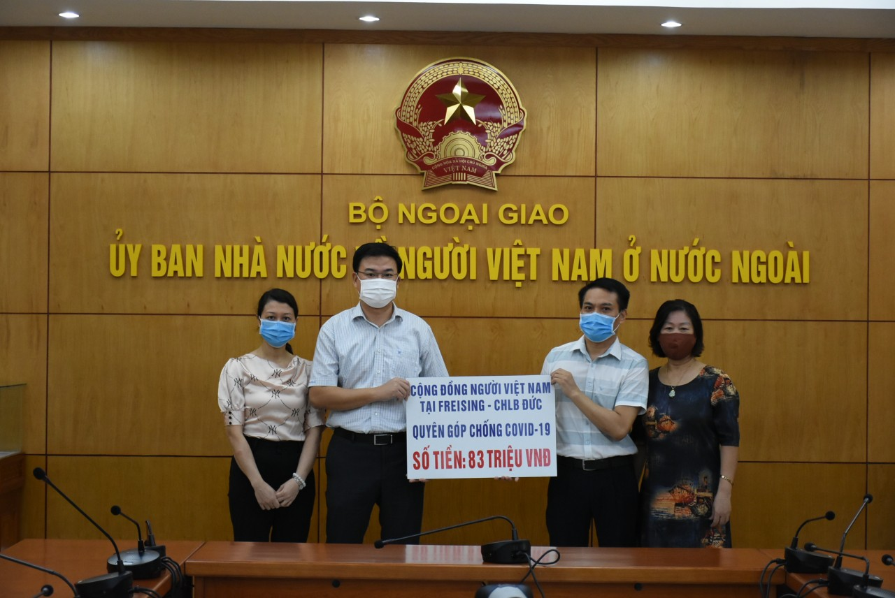 Người Việt tại Hàn Quốc, Đức và Macao (Trung Quốc) ủng hộ công tác phòng chống Covid-19