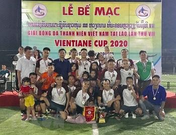 9 đội tham gia Giải bóng đá thanh niên Việt Nam tại Lào lần thứ 7 gây quỹ từ thiện giúp trẻ em Lào