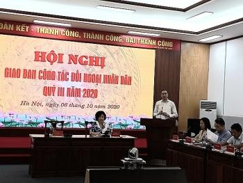 Đối ngoại nhân dân nâng cao hình ảnh Việt Nam trong phòng chống dịch COVID -19