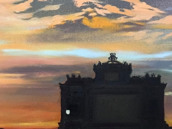 Triển lãm 83 tác phẩm của 30 họa sĩ nổi tiếng của Hungary tại Việt Nam