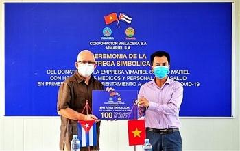Doanh nghiệp Việt Nam tặng 125 tấn gạo cho Cuba để phòng chống dịch COVID-19