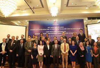 ASEM thúc đẩy mục tiêu về bình đẳng giới và nâng cao quyền năng của phụ nữ trước dịch COVID-19