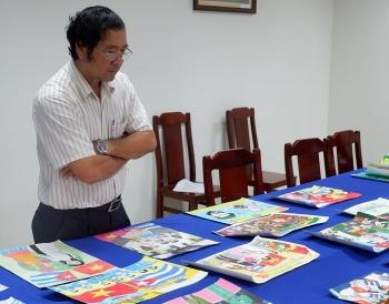 500 tác phẩm dự thi Cuộc thi vẽ tranh