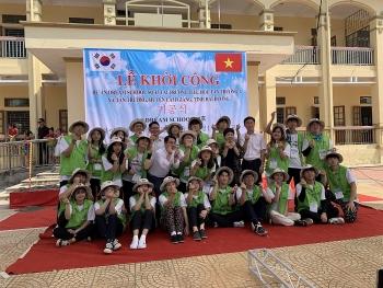 Tập đoàn LS (Hàn Quốc) hỗ trợ 1,5 tỷ cho Trường Tiểu học An Thượng (Hải Dương) xây thêm phòng học