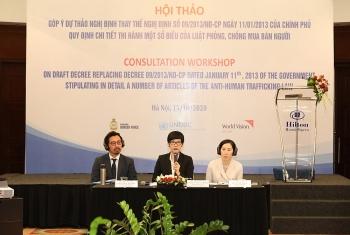 Quốc tế đánh giá cao chính sách liên quan đến phòng, chống mua bán người của Việt Nam