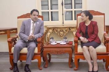 Đại sứ UAE tại Việt Nam muốn tăng cường giao lưu nhân dân thông qua VUFO
