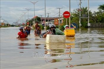Việt Nam gửi điện thăm hỏi về mưa lớn và ngập lụt trên diện rộng tại Campuchia