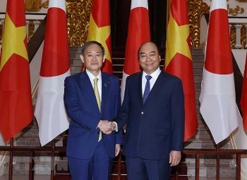 Truyền thông quốc tế đưa tin về chuyến thăm Việt Nam của Thủ tướng Nhật Bản Yoshihide