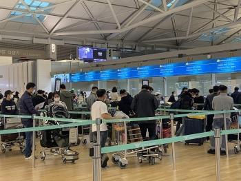 Thêm chuyến bay đưa 980 công dân từ Hàn Quốc, Angola về nước