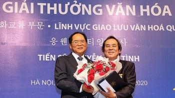 Người Việt Nam đầu tiên nhận giải thưởng văn hóa Sejong của Hàn Quốc
