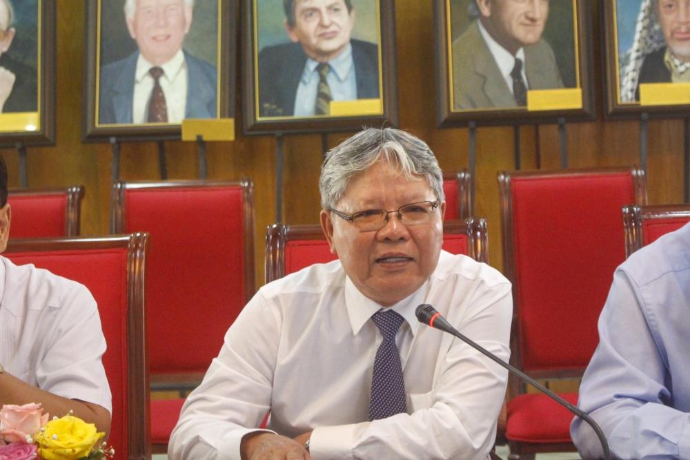 Kí kết thoả thuận hợp tác giữa Quỹ Hoà bình và Phát triển Việt Nam với Hội Luật Quốc tế Việt Nam