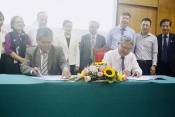 Ký kết thoả thuận hợp tác giữa Quỹ Hoà bình và Phát triển Việt Nam với Hội Luật Quốc tế Việt Nam