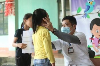 Tổ chức GNI khám sức khỏe miễn phí cho 1.417 trẻ bảo trợ tại Hà Giang