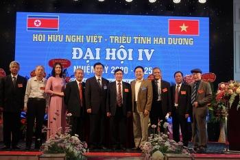 Ông Phạm Văn Hoàn tiếp tục giữ chức Chủ tịch Hội Hữu nghị Việt - Triều tỉnh Hải Dương