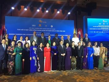 Doanh nhân nữ ASEAN thông qua 5 khuyến nghị đối với các nhà lãnh đạo kinh tế ASEAN