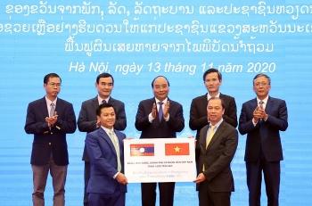Việt Nam hỗ trợ 1000 tấn gạo cho nhân dân Lào khắc phục hậu quả thiên tai