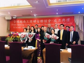 Ra mắt Hội liên hiệp Nữ doanh nhân Việt Nam tại Đài Loan