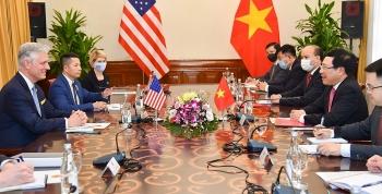 Hoa Kỳ ủng hộ Việt Nam mạnh, độc lập, thịnh vượng, đóng vai trò ngày càng quan trọng tại khu vực