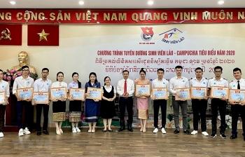 TP.HCM tuyên dương 122 sinh viên Lào - Campuchia tiêu biểu năm 2020