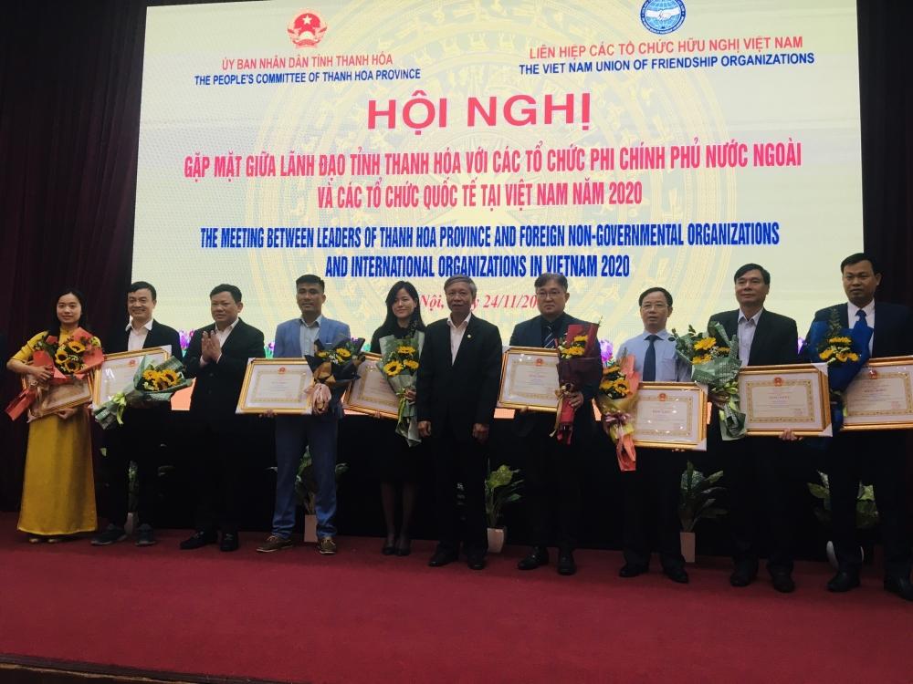 Thanh Hoá kí kết thoả thuận hợp tác với 6 tổ chức phi chính phủ nước ngoài